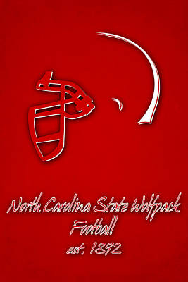 North Carolina State Wolfpack Art Print by Joe Hamilton