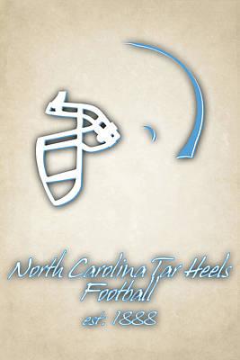 North Carolina Tar Heels Print by Joe Hamilton