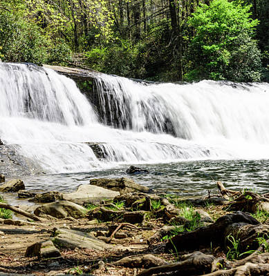 Photograph - North Carolina Waterfall by Tammy Ray