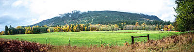 Photograph - North Cascade Panorama by Bob VonDrachek