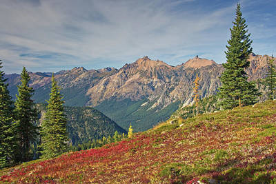 North Cascades Photograph - North Cascades by Bill Johnson