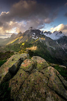 Photograph - North Cascades National Park by Serge Skiba