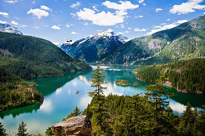 North Cascades Art Print