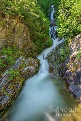 Photograph - North Cascades Waterfall by Paul Conrad