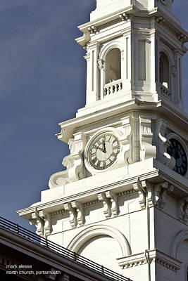 Photograph - North Church by Mark Alesse