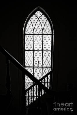 Photograph - North Church Window by Alana Ranney