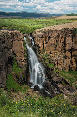 Photograph - North Clear Creek Falls, Creede, Colorado 3 by Adam Reinhart