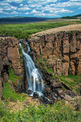 Photograph - North Clear Creek Falls, Creede, Colorado 5 by Adam Reinhart
