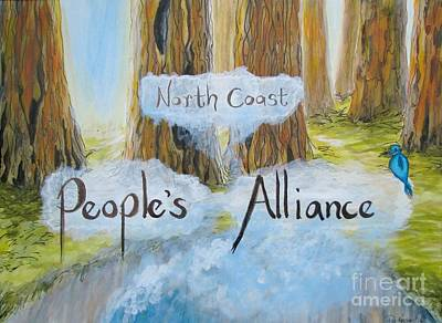 Mixed Media - North Coast People's Alliance by Patricia Kanzler
