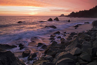 Photograph - North Coast Sunset by Paul Riedinger