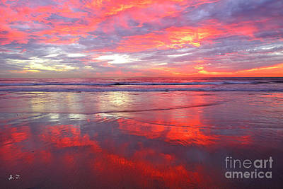 Photograph - North County Afterglow by John F Tsumas