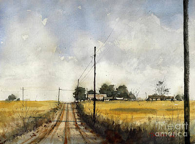 Painting - North County Rd 2000 by Tim Oliver