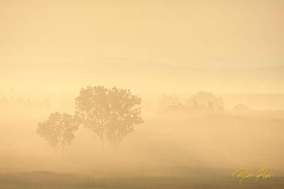 Photograph - North Dakota Backroads by Rikk Flohr