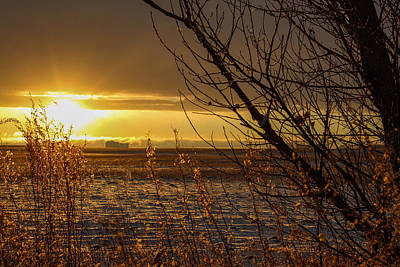 Photograph - North Dakota Sunset by Christy Patino