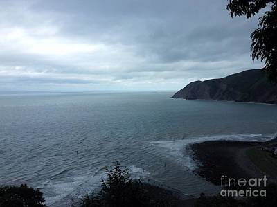 Photograph - North Devon Coast by Joan-Violet Stretch
