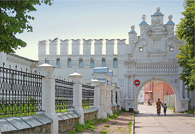 Photograph - North-east Front Gate Of The Kremlin Of Verchoturye by Vladimir Kholostykh