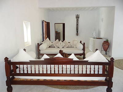 Exploramum Wall Art - Photograph - North - Eastern African Home - Lounge Room by Exploramum Exploramum