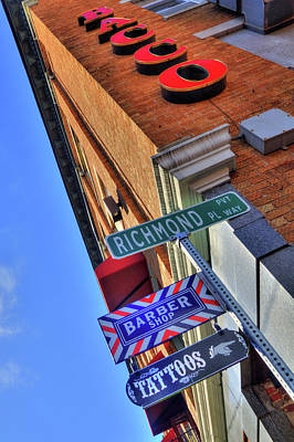 Photograph - North End Boston Signs - Bacco by Joann Vitali