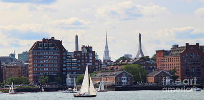 Photograph - North End  Of Boston  by Lennie Malvone