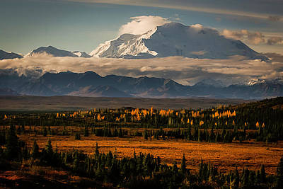 North Face Of Denali Art Print