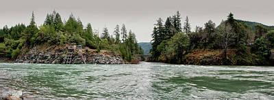 Photograph - North Fork And Middle Fork Of Smith River by Betty Depee