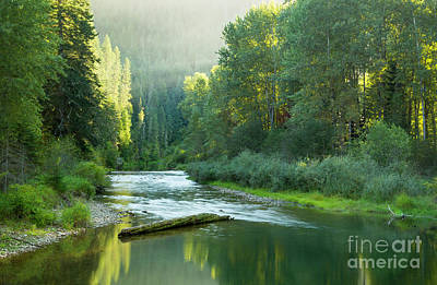 Photograph - North Fork Atmosphere by Idaho Scenic Images Linda Lantzy