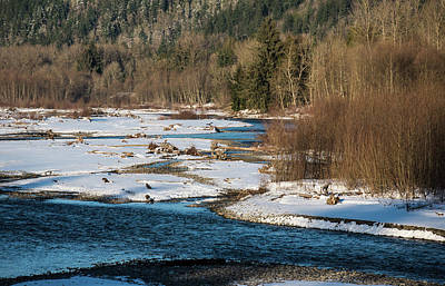 Photograph - North Fork In Mid December by Tom Cochran