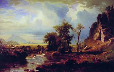 North Fork Of The Platte Nebraska Art Print