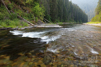 Photograph - North Fork Rapids by Idaho Scenic Images Linda Lantzy