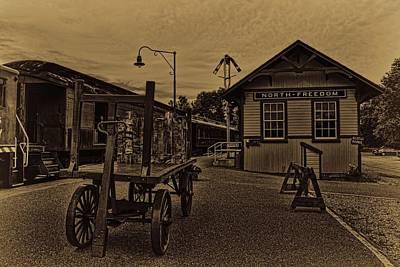 Photograph - North Freedom Train Museum by Dale Kauzlaric