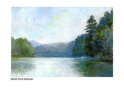 Painting - North From Hanover by Betsy Derrick