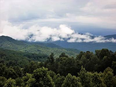Photograph - North  Ga. Mountains by Glenda Barrett