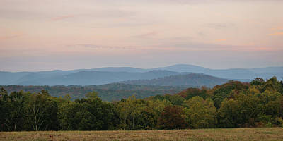 Photograph - North Georgia Hills At Dusk by Lee Coursey