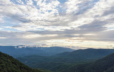 Photograph - North Georgia Mountains 9 by Andrea Anderegg