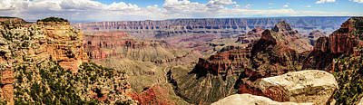 Photograph - North Grand Canyon - Walhalla Overlook by Debra Martz