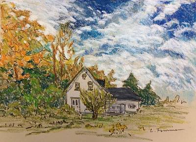 Painting - North Hatley by Liliane Fournier