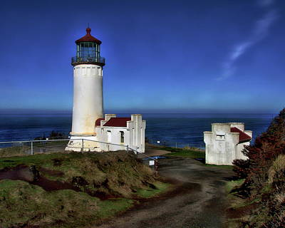 Photograph - North Head Lighthouse by Anthony Dezenzio