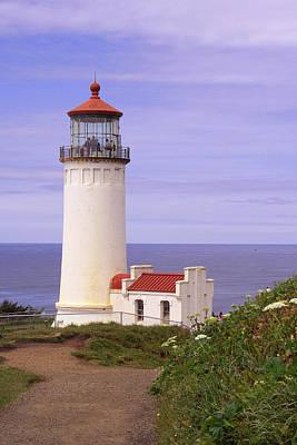 North Head Lighthouse Li 2000 Art Print by Mary Gaines