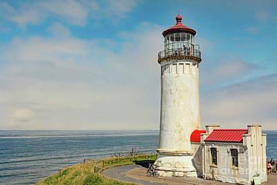 Photograph - North Head Lighthouse View by Jean OKeeffe Macro Abundance Art