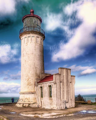 North Head Lighthouse - Washington Coast Art Print