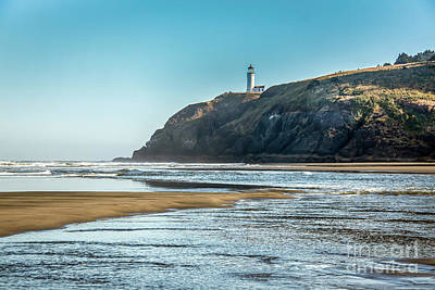 Photograph - North Head Lighthouse With The Morning Light by Robert Bales