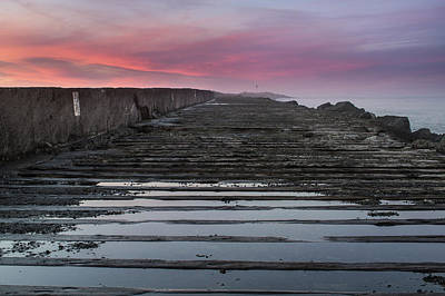 Photograph - North Jetty At Dusk by Greg Nyquist