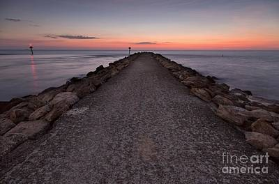 Photograph - North Jetty by Karin Pinkham