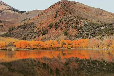 Photograph - North Lake Peak Autumn by Sean Sarsfield