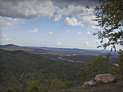 Photograph - North Mountain Overlook  by Walter Herrit