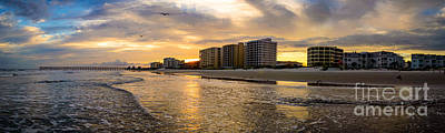 North Myrtle Beach Sunset Art Print