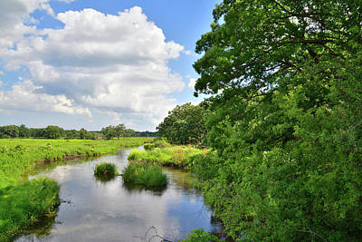 Nippersink Creek Photograph - North Nippersink Creek by Ray Mathis