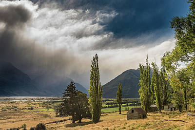 Art Print featuring the photograph North Of Glenorchy by Gary Eason