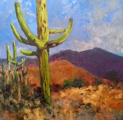 Painting - North Of Mount Lemon by Jessica Anne Thomas