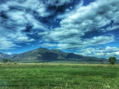 Photograph - North Of Taos, New Mexico Mountains by Debra Martz